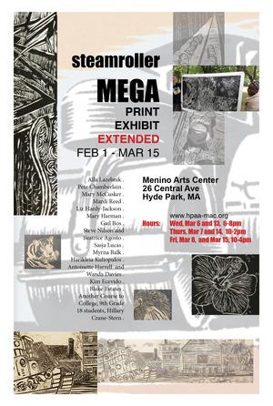 Steamroller Mega Print Exhibit